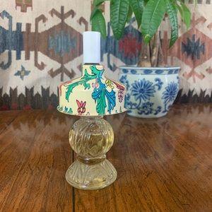 Vintage 50s Avon lamp perfume bottle Apple blossom